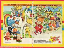 Pubblicità Advertising 1985 MATTEL  Rainbow Brite Iridella