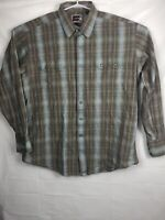 Panhandle Slim Brooks & Dunn Collection Snap Front embroidered Shirt Mens Xl
