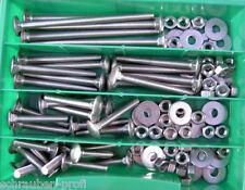 105 pezzi Vite di bloccaggio quadrata Assortimento M6 DIN 603