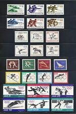 DDR  Olympics  Selection MNH Superb $18.65 (two pages)