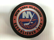 Fan Apparel & Souvenirs Vintage New York Islanders Hockey Puck Nhl Official Czechoslovakia Inglasco