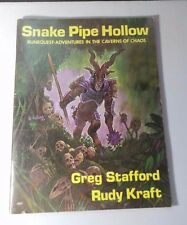 RUNEQUEST: Snake Pipe Hollow Caverns of Chaos RQ #4007 RPG 1983 Reprint