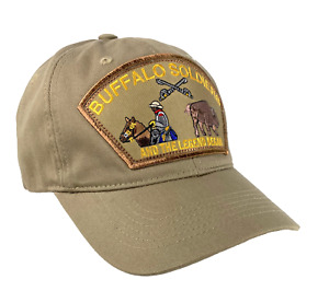 Buffalo Soldiers Dad Cap Unstructured Cotton Military Grade