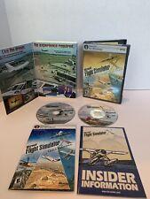 Microsoft Flight Simulator X Deluxe Edition PC Game Complete 2006 EUC W/ Key