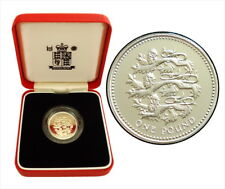 Cameo Proof Great Britain 1989 Pound~No one will attack me with impunity~Free Sh