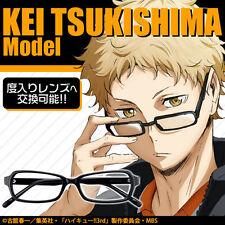 Haikyu!! Haikyuu!! Brand New Tsukishima Kei Glasses from JAPAN