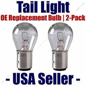 Tail Light Bulb 2pk - OE Replacement Fits Listed Dodge  Vehicles  - 198