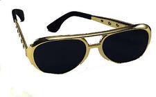 Oro De Elvis Presley Gafas De Sol Gafas el rey Fancy Dress