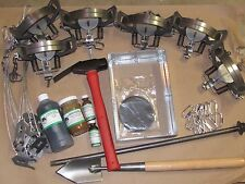 Coyote Trapping Package 6 duke #3 coil spring kit Fox Coyote Raccoon New sale