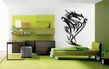 Wall Vinyl Sticker Decals Kids Room Decor Mural Animal Dragon w/ Wings #143