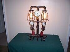 Steampunk Lamp (THE GUARDIAN ) Original Art