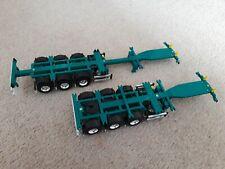Tekno 1/50 Flexi Container Trailers Toll Green.