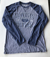 Men's NFL Dallas Cowboys Authentic Raglan Long Sleeve Shirt Pre-Owned Size L