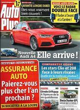 AUTO PLUS N°1372 19 DECEMBRE 2014 AUDI A4/ ASSURANCE/ PEUGEOT 208/ CLIO/ MUSTANG