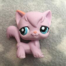 New ListingLittlest Pet Shop #2012 pink angora longhair cat blue eyes