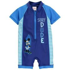 Disney Mickey Mouse Baby Boy Swimsuit Costume Summer Swimwear 9-12m