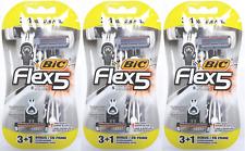 BIC Flex 5 Five Blade Disposable Razors, 12 ct (9 + 3 Bonus)