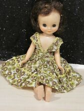 "Vintage 1950s American Character 8"" Brunette Betsy McCall Doll w/Dress LOVELY"