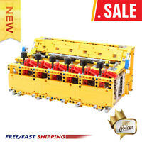 4456 Mechanical Calculator Educational Building Blocks Math Number Bricks Toys