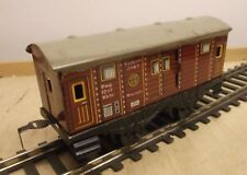 HWN Track 0 Luggage Car Sheet Metal Mint Condition, Doors to Open