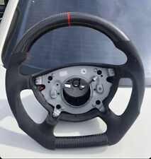 Custom Mercedes 2003-05 W211 E55 E500 G55 G500 Perforated Carbon Steering Wheel