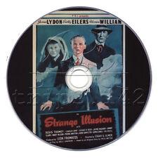 Strange Illusion (1945) Jimmy Lydon Crime Film-Noir Crime Movie on DVD