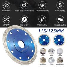 Porcelain Tile Turbo Thin Diamond Dry Cutting blade/Disc Grinder wheel 125mm