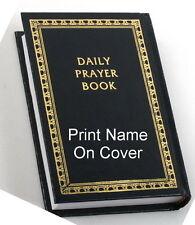 SIDDUR + PERSONAL NAME PRINT Hebrew-English Jewish Prayer Service Book Synagogue