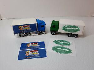 Tommy Boy-set of 4 stickers-fits Hot Wheels Hiway Hauler Trailer- Custom Trailer