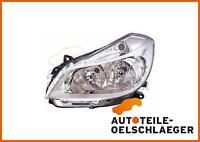 Scheinwerfer links Renault Clio Bj. 05-09