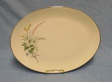 "FLINTRIDGE TRUE LOVE 14"" LARGE OVAL SERVING PLATTER MINT! NO COLOR BAND VINTAGE"