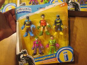 IMAGINEXT FRIENDS DC SUPER HEROES & VILLAINS BATMAN 5 FIGURE THE RIDDLER BATMAN