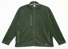 PATAGONIA SYNCHILLA Men's XXL Olive Green Fleece Jacket w/ NBC Olympics Logo