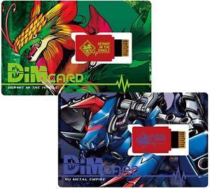 BANDAI Digimon Vital Breath Bracelet Dim Card Set Vol.03 Digimon Adventure Japan