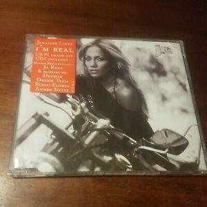 Jennifer Lopez / Jlo I'm Real Australian Remixes CD Single -