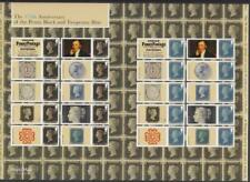 GB 2015 ANNIVERSARY OF THE PENNY BLACK SMILERS FULL SHEET LS94 AT085 MINT 20x 1s