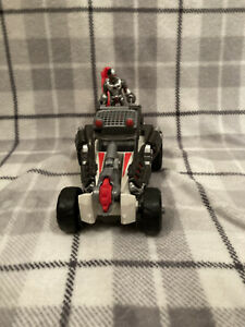 Mattel DC Comics IMAGINEXT Cyborg FIGURE With Saw Catapult Buggy VEHICLE Toy