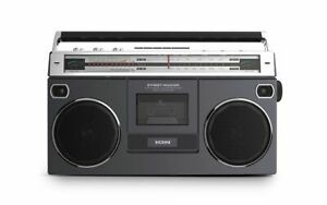 ION Audio 80's-style Retro Stereo Cassette Boombox - Stream Wireless ION-ISP112