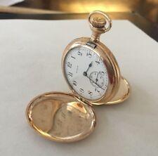 Elgin Pocket Watch 1915 Manufactured Double Roller Philadelphia Watch Case Co.