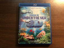 IMAX UNDER THE SEA 3D - BLU-RAY LIKE NEW - 2009 Jim Carrey - WARNER