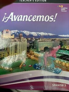 Avancemos! Spanish Level 3 Teacher's Edition-2018 BRAND NEW WITH FREE SHIPPING