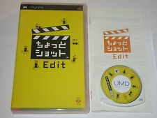 Photo Shot Edit - Sony PSP Japan Import - Game Only