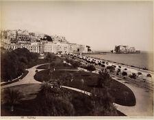 Photo Par Sommer Albuminé Naples Napoli Italie Vers 1870