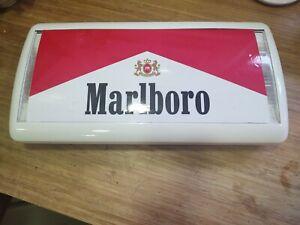 Marlboro Light Up Cigarette Advertising sign LED conversion, with UK plug
