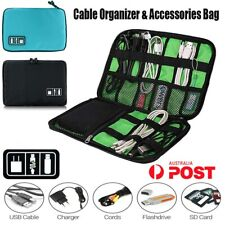 Electronic Accessories Cable Organizer Bag Travel USB Cord Charger Storage Case
