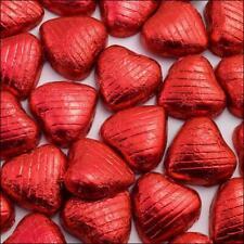 200 rot Folie Schokolade liebes Herzen Hochzeit Geschenk Valentinstag