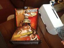 Mattel WWE Flexforce Hook Throwin' CM Punk on card