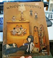 WHIPPERSNAPPERS  V8 BY HELAN BARRICK 1984 OILS &  ACRYLIC TOLE PAINTING BOOK