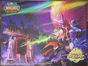 SPIELMATTE Dunkles Portal Dark Portal  Upper Deck WoW World of Warcraft Playmat