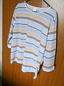 ladies anna de lancay top size large 40 inch chest new no tag